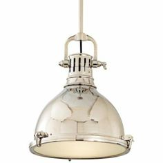 Pelham Pendant (Nickel/Large) - OPEN BOX RETURN by Hudson Valley Lighting at Lumens.com