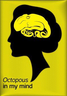 Octopus in my mind by Clemente Brunetti, via Behance