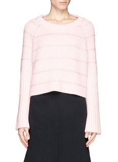 ELLERYChunky knit cropped sweater