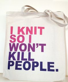 Gradated Pinks and Purples I Knit So I Won't Kill by astorknot, £20.00