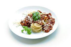 Makaron, Bazylia, Obiad, Spaghetti, Smaczne, Obiadowe