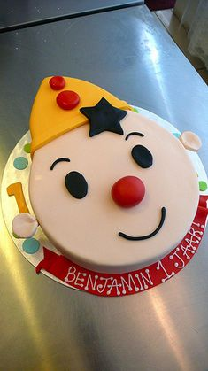 BUMBA 2D Cake by CAKE Amsterdam - Cakes by ZOBOT