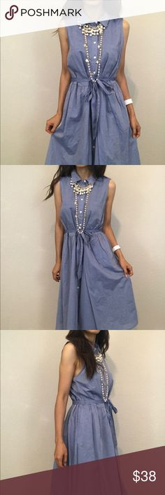 "Brand new long jean dress Brand new, size XL , length 42"" bust 42"" Dresses"