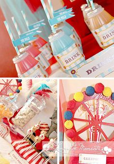 Carnival / Circus Printable Party Package  by LemonadeMoments, $15.00