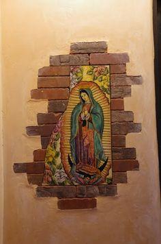 El Blog de Marcelo: Murales de la Virgen de Guadalupe: María más allá del templo