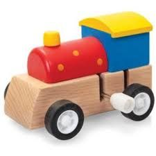Clockwork Wooden Train - Toys and Games Ireland