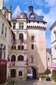Picois gate, Loches, Loire Valley, France