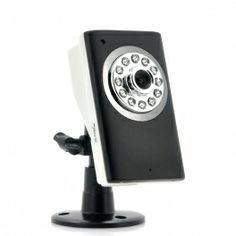 Secural Plug and Play IP Home Security Camera - 2 Way Audio, Micro SD Card Slot, Night Vision $99.99