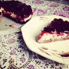 Monchoutaart was altijd al mijn favoriete taart, naast mokkataart. Hoewel ik al tijden geen monchoutaart meer gegeten had, kreeg ik steeds meer zin om weer