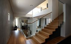 Stair room, Wolf House, Melbourne, Australia, by Wolf Architects.
