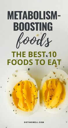 These foods are fantastic for boosting your metabolism. Youll be able to ward off hunger and keep your body healthy and lean. Here are ten of the best metabolism boosting foods you can easily add to your diet. High Metabolism Foods, Boost Your Metabolism, Lose Thigh Fat Fast, Lose Body Fat, Fast Weight Loss Tips, How To Lose Weight Fast, Losing Weight, Diet And Nutrition, Health Diet