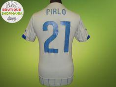 43f07fe1f8703 ITALY National Away 2014-2015  21 PIRLO (S) FOOTBALL SHIRT Jersey Camisa  Maglia