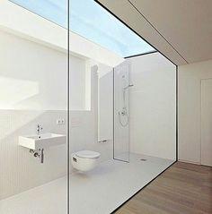 So beautiful bathroom  #bathroom #shower #showerroom #sink #toilet #boonthavorn #homepro #ikea #homedecoration #vogueliving #livingetc #elledecoration #homeinterior #interiordesign #interior123 #cottostudio #scg #mengood69 #cotto #tile #americanstandard #roof #sunlight #naked #daylight #indexlivingmall #sbdesignsquare #minimalist #minimal #modern