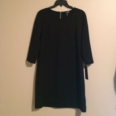 Black Daisy Fuentes Black Dress- NWT Black Zip...super cute and never worn...new with tags. Too small for me Daisy Fuentes Dresses