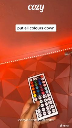 how to make PINK led lights tutorial :) Led Room Lighting, Room Lights, Strip Lighting, Cute Room Decor, Teen Room Decor, Teen Bedroom, Bedrooms, Bedroom Decor, Wall Decor