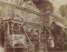1898-1900 - Fête des invalides. Photographe : Atget