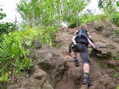 Olomana Peaks is a 6 mile roundtrip hike at 1600ft elevation. Olomana is the craggy, commanding mountain windward of Nu'uanu Pali. ...