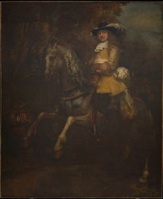 RITRATTO EQUESTRE DI FREDERICK RIHEL. 1663. olio su tela. 294,5 × 241 cm.
