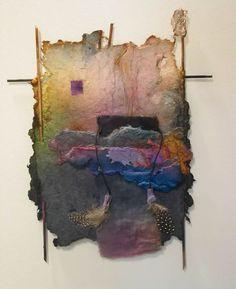 Pat and Allen Littlfield Handmade paper: