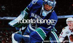 Roberto Luongo - Vancouver Canucks Goalie