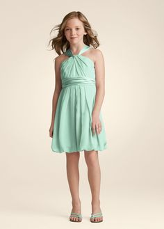 Mint jr bridesmaid dress