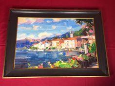 IHOR KOROTASH Russian Impressionist Bellagio Original  Painting Oil On Canvas | Art, Art from Dealers & Resellers, Paintings | eBay! Oil On Canvas, Canvas Art, Luxury Sale, Impressionist, Art Art, Original Paintings, The Originals, Ebay, Painted Canvas