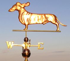 Doxie weathervane! I don't own a Doxie but  I have friends who do and they are the sweetest! Repining this for my friends :-)