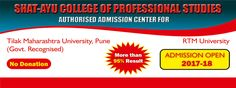 Eligibility Criteria to take admission in MCA is 50% in Graduation,Hurry Up ...Admission Process started for session 2017-18... Connect with us @shatayu college of professional studies for online enquiry #call7304296377 | 7385530360 | 9975640444