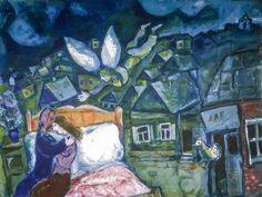 "art-centric: "" Marc Chagall - The Dream, 1939 """