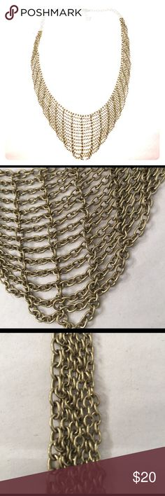 Chain Link Neckalces Chain link statement necklace Jewelry Necklaces