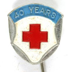 1954 Red Cross - 40 Years