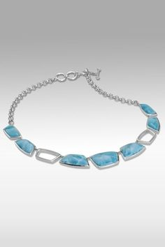 Larimarket - MarahLago Avenia Collection Larimar Necklace, $1,200.00 (http://www.larimarket.com/marahlago-avenia-collection-larimar-necklace/)