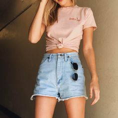 "92.5k Likes, 108 Comments - Brandy Melville (@brandymelvilleusa) on Instagram: ""#brandyusa Jamie Paris Rose Embroidery Top online"""