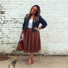 iambeauticurve - cute look for work - #plus #size #fashion