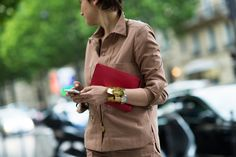 Paris Haute Couture Fall 2014 Street Style - Paris Street Style