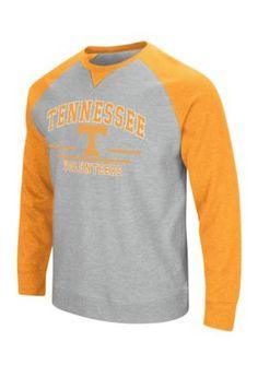 Colosseum Athletics Tennessee Volunteers Turf Fleece Crew Neck - Gray - 2Xl