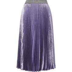 Christopher Kane Christopher Kane - Dna Pleated Silk-blend Lamé Midi... (3,820 PEN) ❤ liked on Polyvore featuring skirts, multi color skirt, galaxy midi skirt, midi skirt, galaxy print skirts and pleated skirt