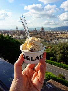 Gelato Festival, Florence Italy is back for the tasty & gourmet gelato contest! Taste 'em all at Piazzale Michelangelo, April World Festival, Festival 2016, Best Ice Cream, Florence Italy, Frozen Yogurt, Outdoor Activities, Tasty, The Incredibles, Michelangelo