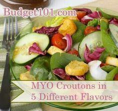 Myo croutons