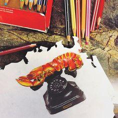 Salvador Dalí's Lobster Telephonee #art