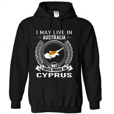 I May Live in Australia But I Was Made in Cyprus (New) - #tshirt upcycle #tshirt frases. PURCHASE NOW => https://www.sunfrog.com/States/I-May-Live-in-Australia-But-I-Was-Made-in-Cyprus-New-ogqgsiwnqe-Black-Hoodie.html?68278