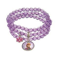 Disney's Frozen Anna Bead Stretch Bracelet Set - Kids