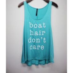 ❗️CLEARANCE❗️Boat Hair Don't Care Graphic Tank S Mint turquoise white print boat hair don't care graphic tank, 95% rayon 5% spandex, Size small. No Trades, Price Firm unless Bundled.  BUNDLE 3 OR MORE ITEMS FOR 15 % OFF. Boutique Tops Tank Tops