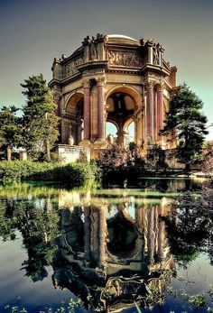 Palace of Fine Arts - SF International Exposition - San Francisco, California