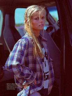 visual optimism; fashion editorials, shows, campaigns & more!: street racer,blue eyes, teenage dream: frida aasen by hugh lippe for russh de...