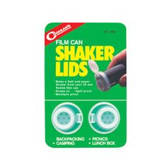 Great for camping - really easy to refill and seal. Get 6 of these for camp kitchen. Only trick is finding film cans.