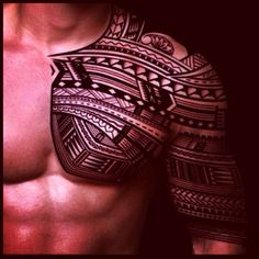 Polynesian tattoo patterns something close to this one. I'm thinking.