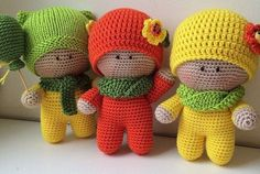 Amigurumi Little Boys-Free Pattern
