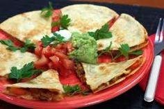 #quesadillas mexicanas! Prueba esta #receta preparada con #fajitas!