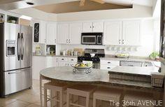 Our White Kitchen Reveal